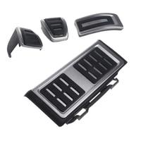 4pcs Car Rest Pedal Foot Fuel Brake Clutch MT AT Pedals For VW Golf 7 VII
