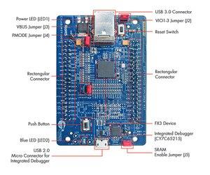 Image 5 - Placa de herramientas de desarrollo de interfaz de CYUSB3KIT 003, EZ USB FX3 SuperSpd Explor, 1 Uds.