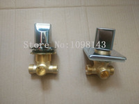Conceal Install Shower Mixing Valve Concealed Split Wall Bathroom Cabinet Piece Set Faucet Water Segregator Sub