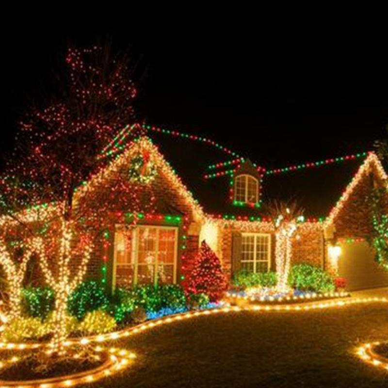 10M 100 Led String Garland Christmas Tree Fairy Light Waterproof Home Garden Party Outdoor Holiday Decoration 1