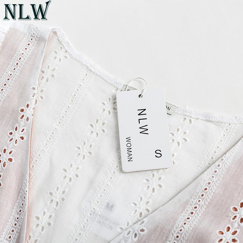 Sweet Lolita White Cotton Lace Dress 3
