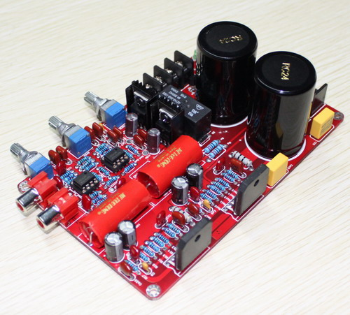 YJ LM3886 amplifier board dual AC26V 0 26V 2.0 channel NE5532 + LM3886 amplifier luxury 68W + 68W with 10000UF NOVER capacitor-in Amplifier from Consumer Electronics    2