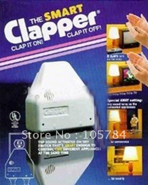 Clap Lamps Gorgeous Free Shipping Voice Control Switch The Clapper Clap On  Clap Off . Review