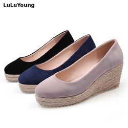 wedges shoes women high heel wedges platform shoes sy-2744 2