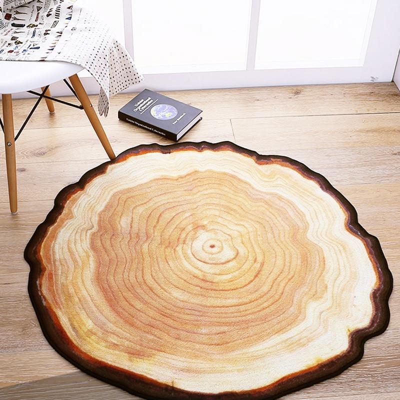 Antique ξύλινο δέντρο ετήσιο δαχτυλίδι - Αρχική υφάσματα - Φωτογραφία 4