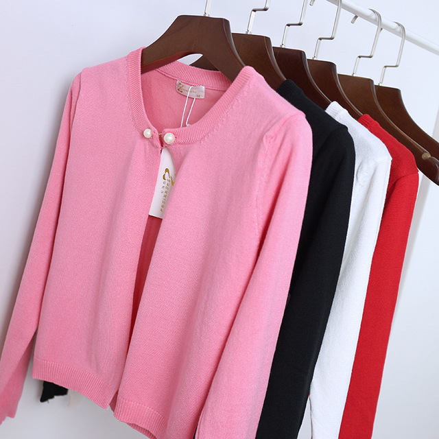 Dulce Chaqueta Corta Para Las Mujeres de Moda Suéter prendas de Vestir Exteriores Delgada 2017 de Punto Cardigan de Cachemir Mujer Feminino Capes Poncho L945
