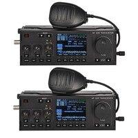 RS 918 SSB HF SDR приемопередатчик 15 Вт мощность мобильного радио RX: 0,5 30 МГц TX: все полосы ветчины многофункциональный инструмент