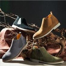 Komfortable und breathab Chelsea Stiefel Herrenschuhe Handmade Alle passenden Kanye West Stiefel Frühling sommer herbst winter