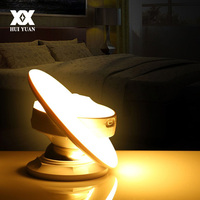 UFO Intelligent Motion Sensor LED Night Light 360 Degree Rotation Induction Wall Lamp Children Bedroom Corridor