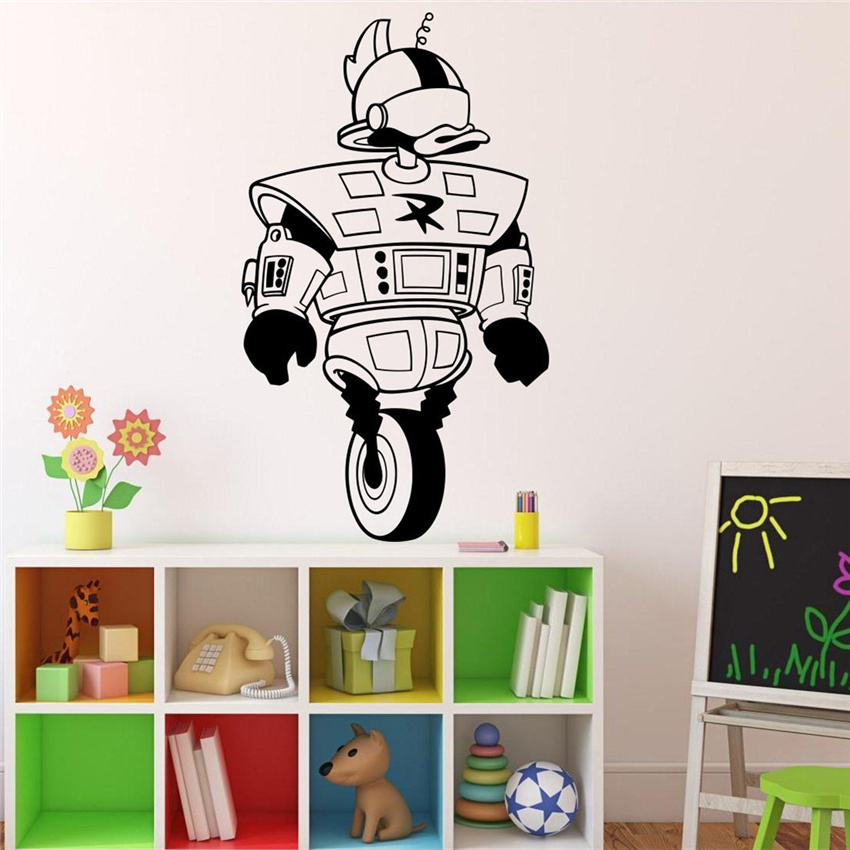 2018 Sale Real Wall Sticker Duck Tales Game Comics Wall Decal Cartoons Kids Interior Living Room Stickers Home Decoration # M20 image