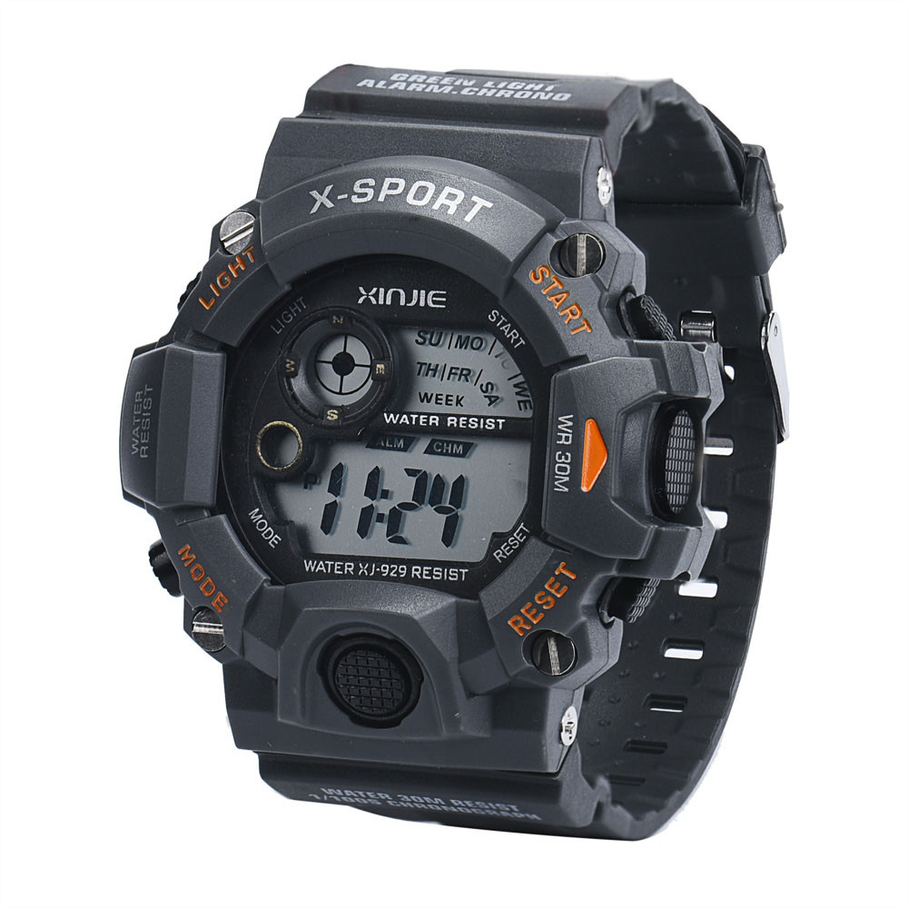 2016 Heißer Verkauf, Digitale Uhr Top Marke Luxus Männer Led Military Armee Relogio Masculino Silikon Armbanduhr Berühmte Geschenk
