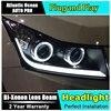 Auto Pro Car Styling For Cruze Headlights 2009 2014 Cruze LED Headlight DRL Lens Double Beam