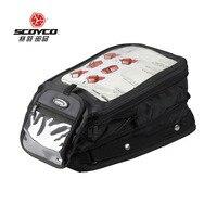 Motorcycle Tank Bags Magnetic Motorcycle Luggage Bags Large Capacity Motorbike Backpack Bags