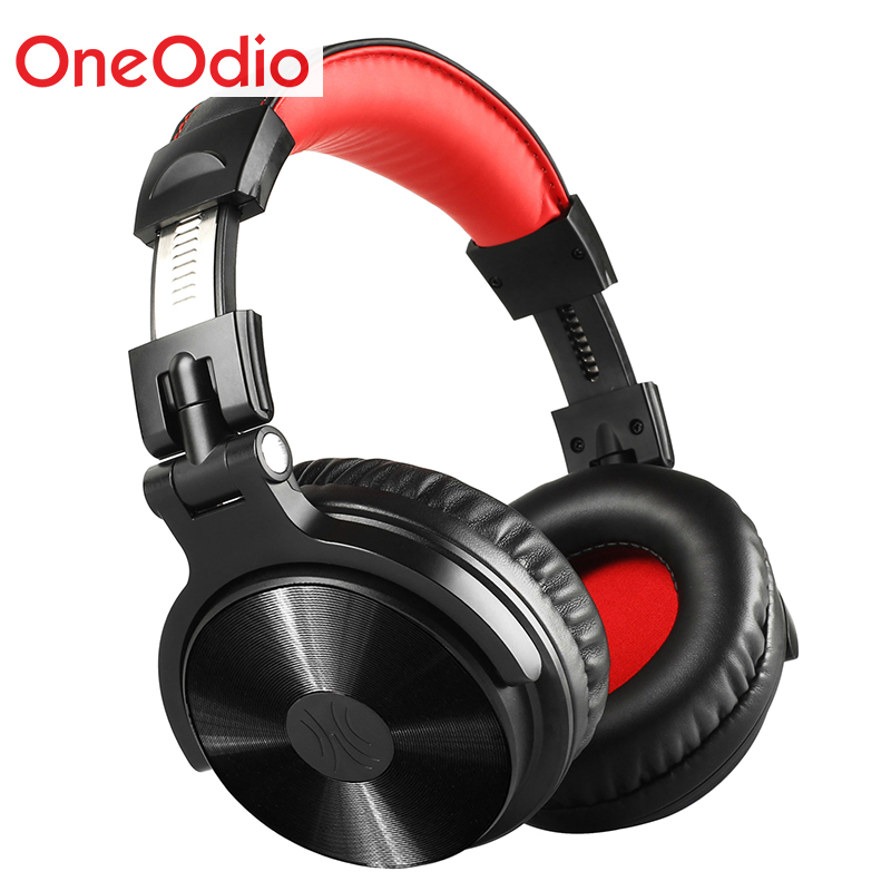 OneAudio Over Ear Bluetooth Wireless Headphones CD Pattern Foldable Headset With Mic 30 Hours Stereo HiFi Earphone For Xiaomi oneaudio original on ear bluetooth headphones wireless headset with microphone for iphone samsung xiaomi headphone v4 1 page 1