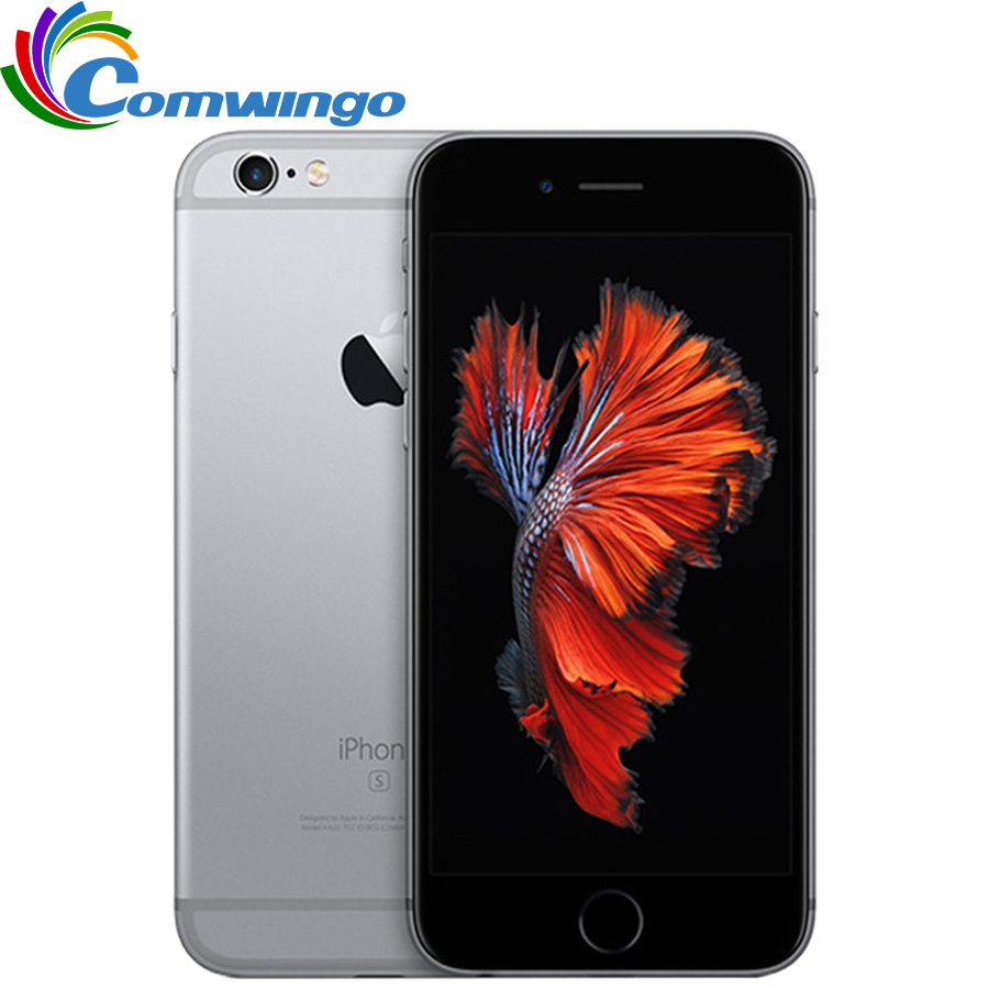 "Image 1 - Original Unlocked Apple iPhone 6s iOS Dual Core 2GB RAM 16GB 64GB 128GB ROM 4.7"" 12.0MP Camera IOS 9 4G LTE iphone6s Phone-in Cellphones from Cellphones & Telecommunications"