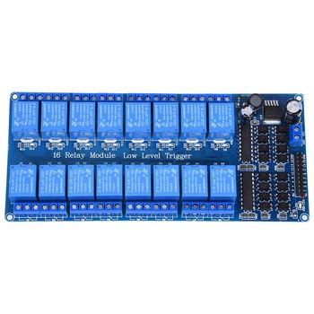 5 V 16 Canali Modulo Scheda Relè Accoppiatore Ottico A LED per Arduino PiC ARM AVR