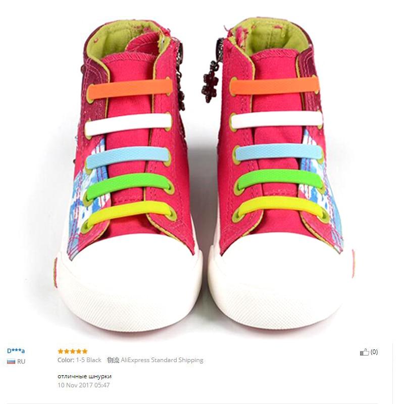 Mr. Niscar 1 Set / 12 Stks Rubber Slip Sneaker Elastische - Schoenaccessoires - Foto 4