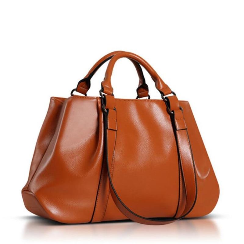 ФОТО Big New Women Shoulder Bags Fashion Ladies Leather Bags Women Handbags Of Famous Brands Totes 2016 Sac Espagnol Crossbody Bags