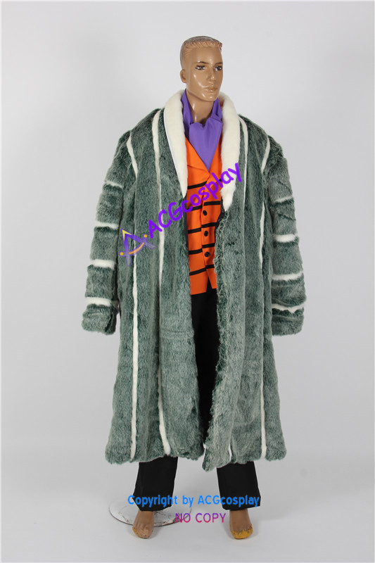One Piece Crocodile Render Cosplay Costume ACGcosplay good qaulity fur