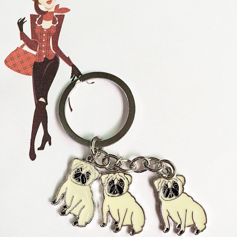 2019 брелок металевий собака тер'єр - Модні прикраси - фото 6