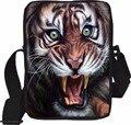 Moda Mini Sacos do Mensageiro Dos Homens de Multi Colorido Crossbody Bag para Crianças Meninos Designer De Animais Tigre Leão Macaco Gato Cabeça Pack