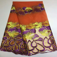African cord lace fabric african swiss voile lace high quality fashion french lace fabric for wedding lace X314 1