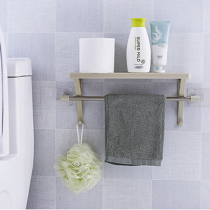 Bathroom Storage Holders Home Wider Towel Rack Hanging Bath Brushes Sponges  Scrubber Holder Organizer Bathroom Cabinet Hanger