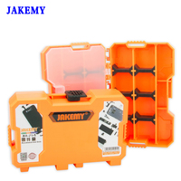JAKEMY Multifunctional Tool Box Storage Accessory Box For Electronic Components