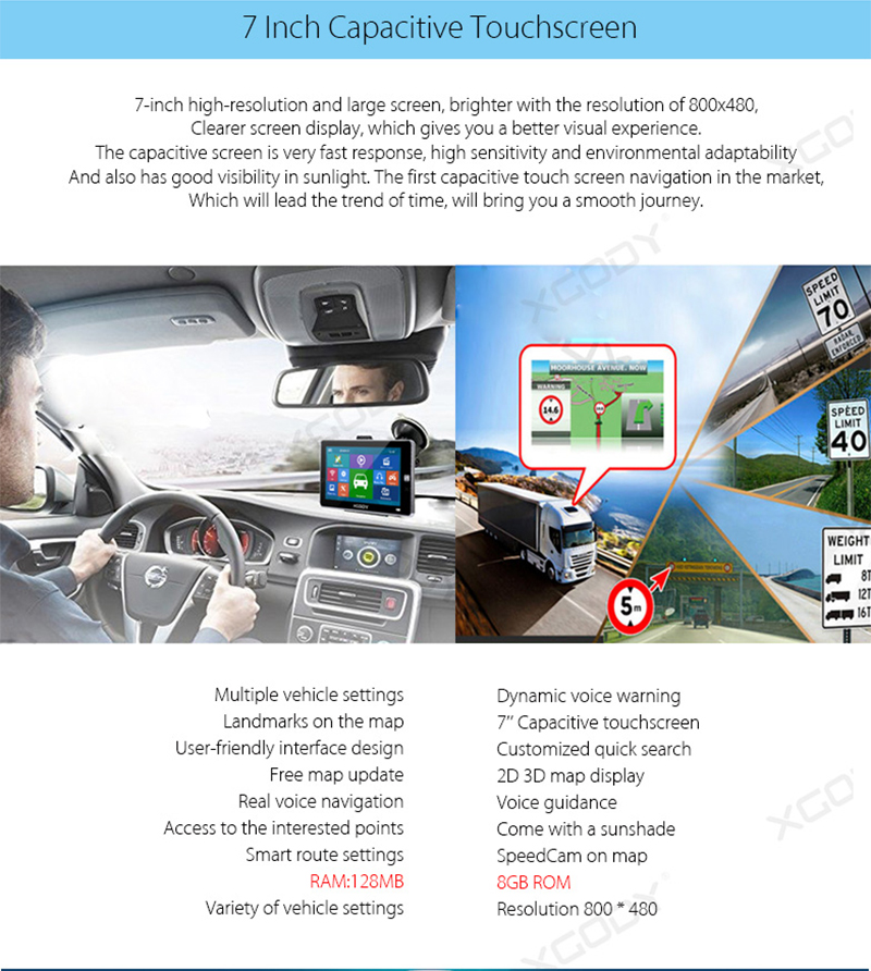 7 Inch Car GPS Navigation (1)