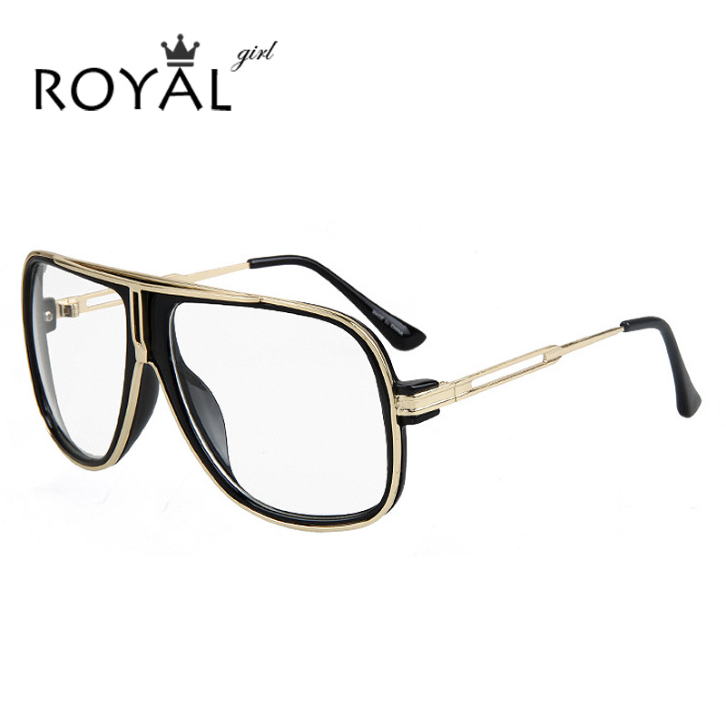 Glasses Frames Us : ROYAL GIRL Vintage Men Eyeglasses Frames Women Oversize ...