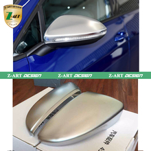 Z-ART CC Scirocco Passat B7 Mirror cover Chrome matt painted cap Side Mirror Housings for Volkswagen 2010-2014 high quality