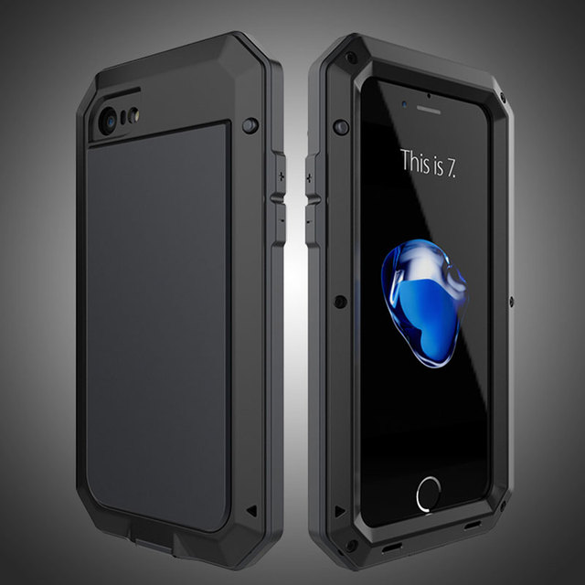 Akaso Luxury Metal Military For Iphone 5 5s Se Shockproof Dustproof Case Rugged Armor
