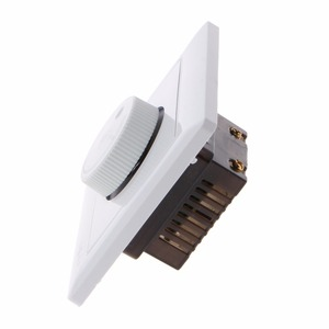 Image 5 - 調整天井ファン速度制御スイッチ壁ボタン調光器スイッチ 220 V 10A