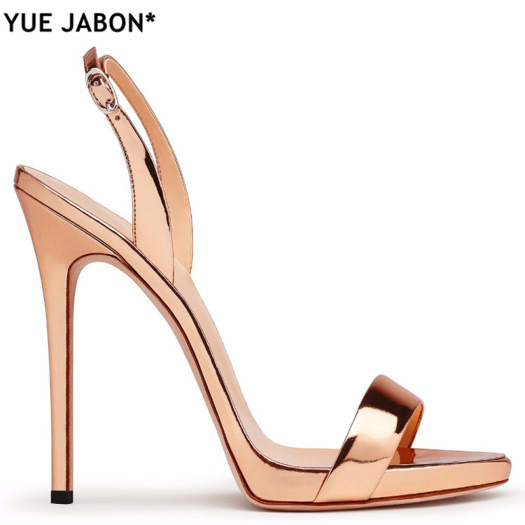 ... 12CM High Heels Women Brands Style Ladies Classic Back Strap Heels Sexy  Red Black Nude Stilettos Shoes Summer Sandals on Aliexpress.com  ca346e6b3f8a