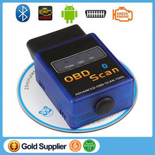 ELM327 Bluetooth Universal Auto Scanner OBD2/OBDII V1.5  Auto Car Diagnostic Tool  elm 327 Works on Android Torque