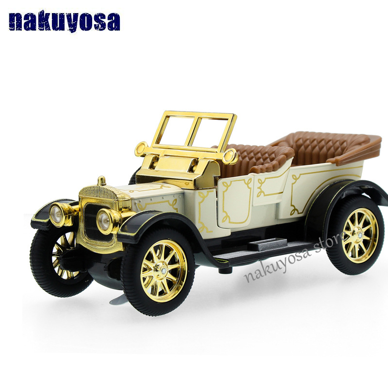 Royal classical Vintage Car 1:32 Scale Model sound&light Alloy Metal Diecasts & Toy Vehicles Classic car Collection Boys Gift