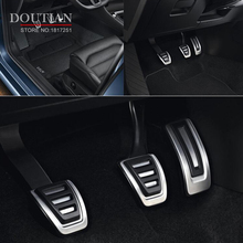 For Audi A4 B8 A6 A7 A8 S4 RS4 A5 S5 RS5 8T Q5 SQ5 8R Gas Fuel Brake Foot Footrest Pedal Pad Plate Cover Auto Accessories 4pcs xyivyg car foot rest fuel brake mt pedals for audi a 1 a3 a4 a4l a4 quattro a5 s4 s6 a7 a8l q5 for manual transmission models