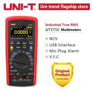 Image 5 - UNI T UT171C endüstriyel True RMS dijital multimetreler giriş/direnç test aleti
