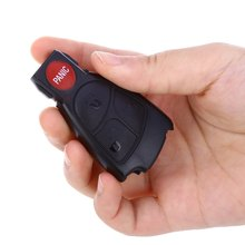 B09 Car Smart Remote Key Holder Case Shell 4-button Protecting Cover for Benz with 3 + 1 Button Design Easy to Install