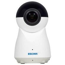 ESCAM QP720 1080P 720 Panoramic WIFI IP Camera H.265 Home Surveillance Security CCTV Camara Baby Monitor Pet Cam