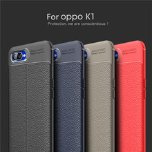 For Cover OPPO K1 Case Phone Silicone Leather Soft Funda Capa