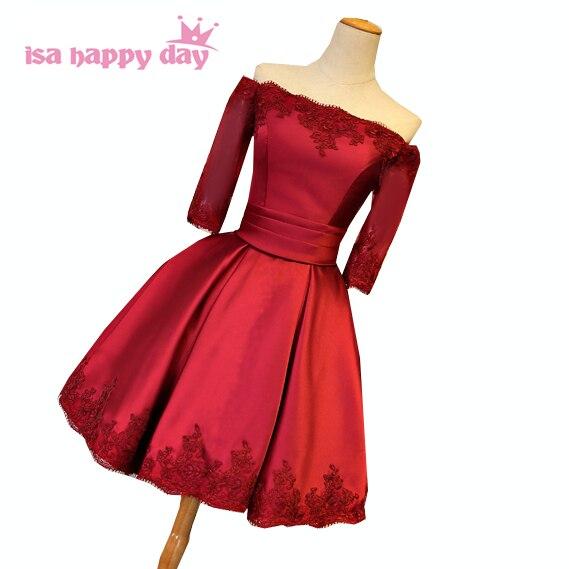 Burgundy Red Dresses