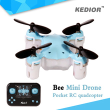 Kedior RC Mini Nano Drone 2.4G 4CH Micro Racing Quadcopter remote control helicopter toys with Headless Mode One Key Return