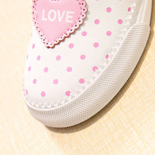 Lovely Fashion Dots n Bow Toddlers Sneakers