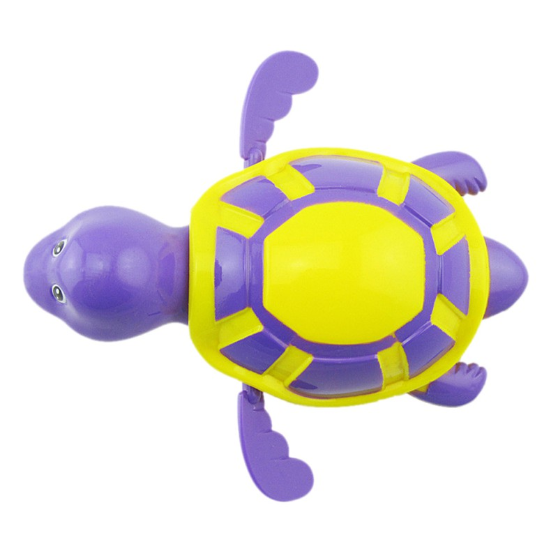 Baby-Bath-Toy-Swim-Bath-turtle-Floating-Water-wound-up-chain-Baby-Children-Classic-Toys-Random-Color-4