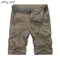 2017 AKing ACE Waterproof Cargo Shorts M 5XL ZA207 6615