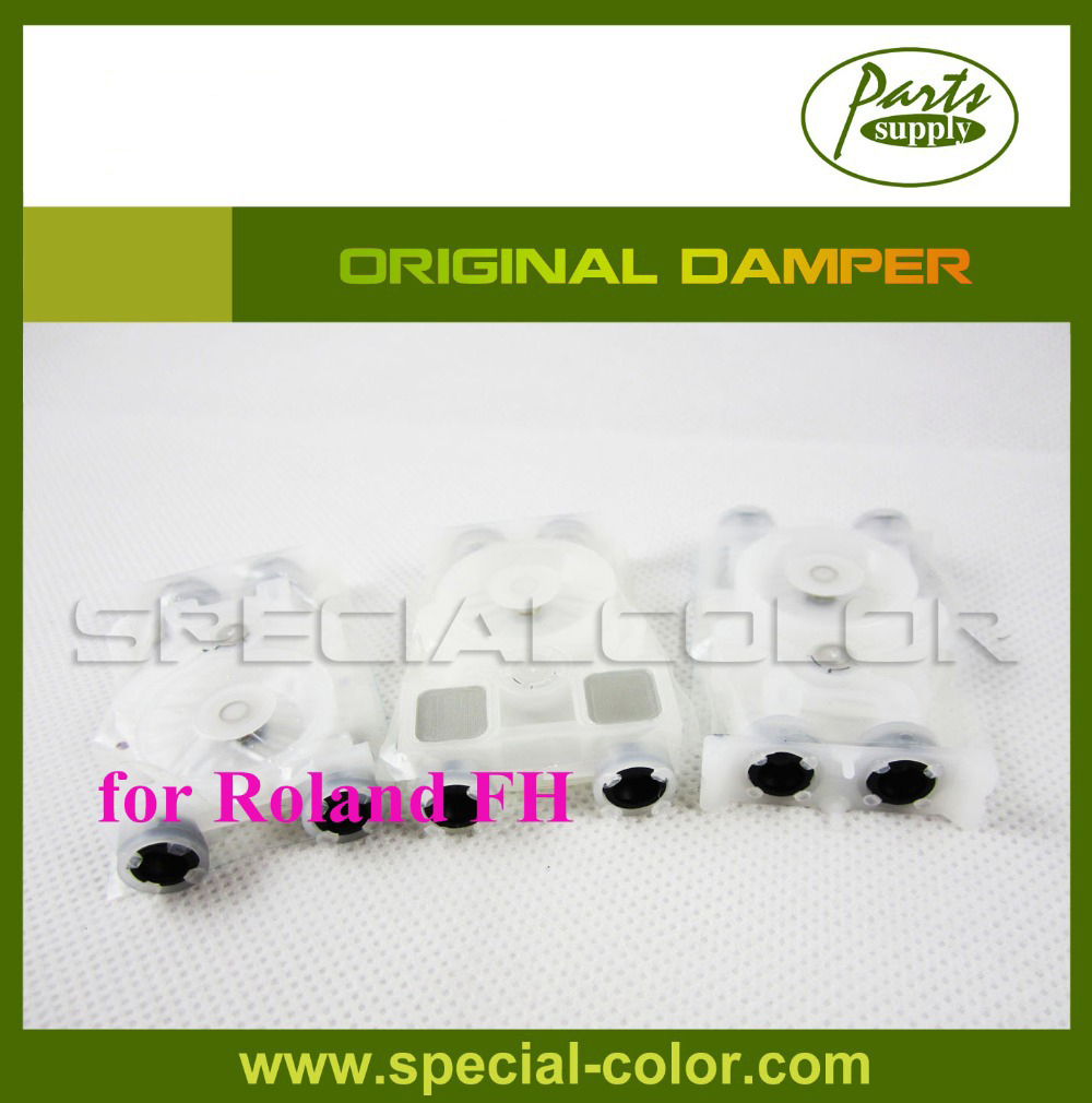 Original Ink Damper For Roland FH Printer DX7 Damper 5pcs lot wholesales roland ra640 printer damper dx7 head damper