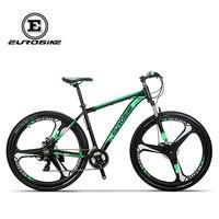 EUROBIKE Mountain Bike 21 Speed 3 Spoke 29 Inches Wheels Dual Disc Brake Aluminum Frame MTB