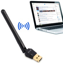 Good Quality 600Mbps Double Frequency Network Card With Antenna 30*18.5*8.3mm USB 2.0 Wifi Network Card Dual Frequency