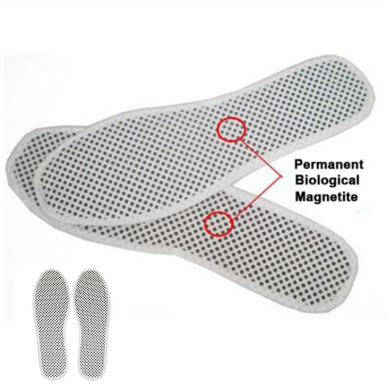 1Pair Winter Tourmaline Self Heated Insoles Massage Far Infrared Rays Insoles Foot Cushion Pads Keep Warm